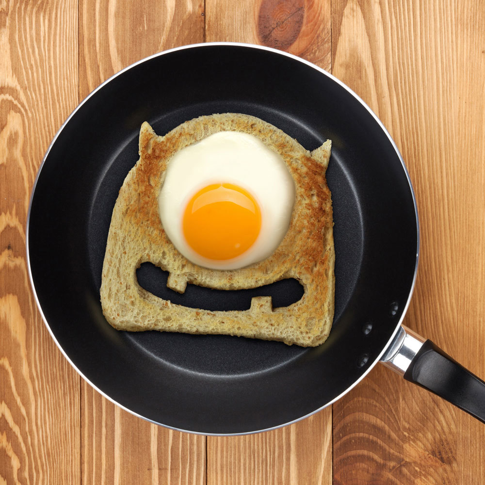 The One Eyed Egg Monster Toast Cutter Is So Cute It S Scary
