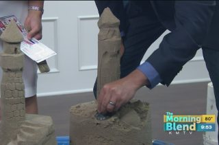 A Morning Show Host Accidentally Built A Penis Sandcastle On Live TV