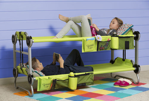 This Portable Bunk Bed Is For Slumber Partying On The Go
