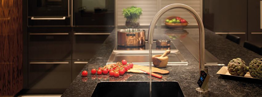 This Tap Instantly Pours Boiling, Chilled, & Sparkling Water