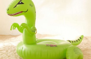 The T-Rex Pool Float Is Definitely Going On Your Wishlist