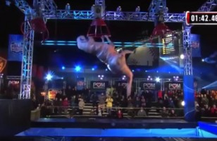 Watch This T-Rex Destroy American Ninja Warrior Course