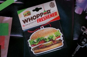 The Whopper Air Freshener Smells Just Like A Burger