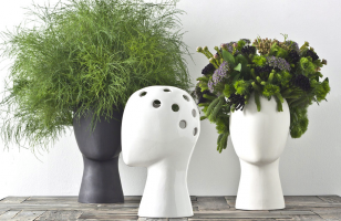 This Wig Vase Is Possibly The Coolest Vase Ever