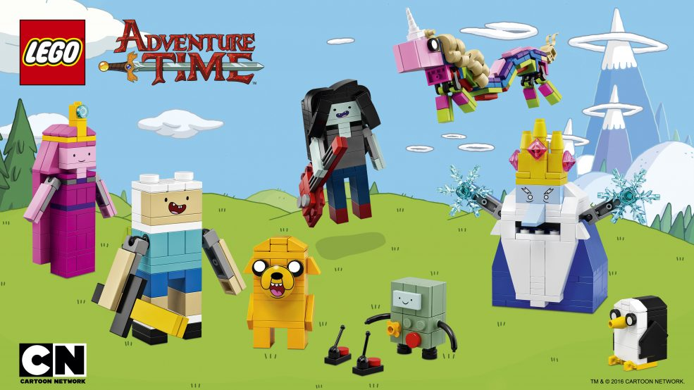 The Adventure Time LEGO Set Is Finally Happening IRL!!!!!!