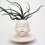 Baby Head Planter Vases