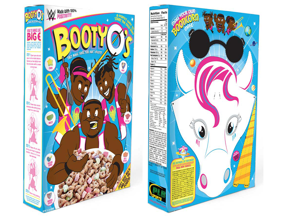 WWE Is Selling Booty-O's, A Real Life Butt-Themed Cereal