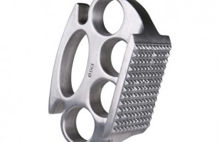 Beat Your Meat With The Brass Knuckles Meat Tenderizer