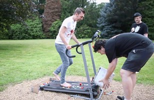 The LEGO Treadmill Challenge Looks Like Pure Torture