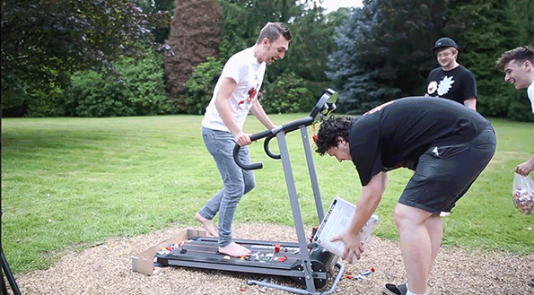 The LEGO Treadmill Challenge Looks Like Pure Torture