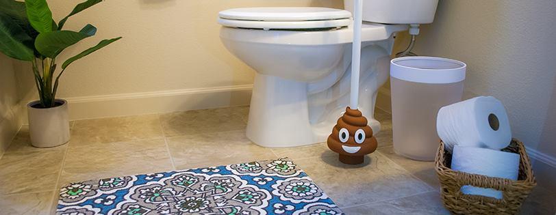 Your Bathroom Desperately Needs The Poop Emoji Plunger
