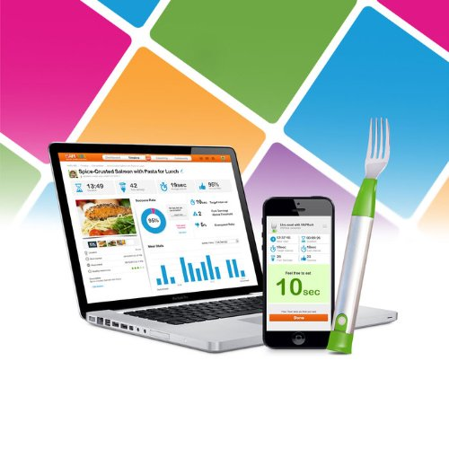 This Smart Fork Helps You Regulate Your Eating Habits