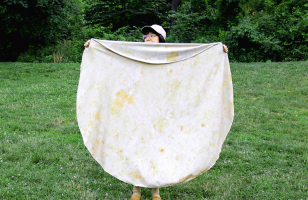 Wrap This Tortilla Towel Around You To Become A Human Burrito