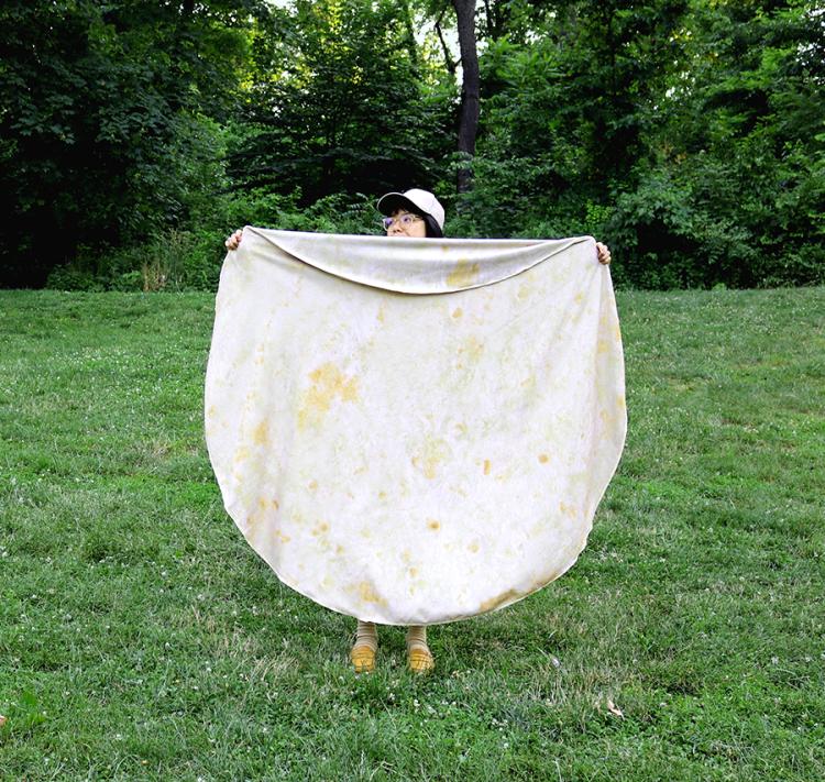 Wrap This Tortilla Towel Around You To Become A Human Burrito