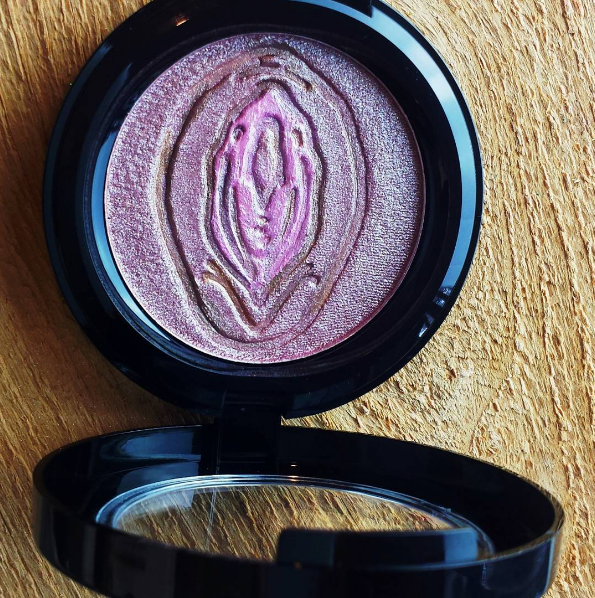 penis vagina highlighter bitch slap cosmetics makeup need