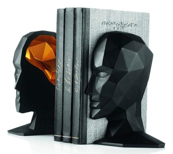 These Human Head Bookends Are Not At All Morbid... Right?