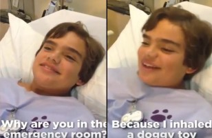 This Kid Inhaled A Dog Toy, Now He Squeaks When He Breathes