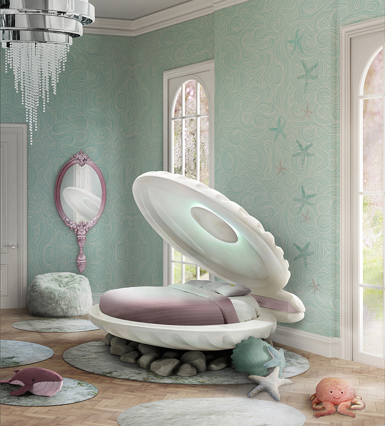 My Bedroom Very Desperately Needs This Mermaid Bed Rn