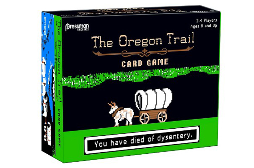 The Oregon Trail Card Game: Because Nostalgia, You Guys