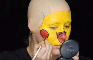 Behold! The Pikachu Makeup Tutorial No One Asked For