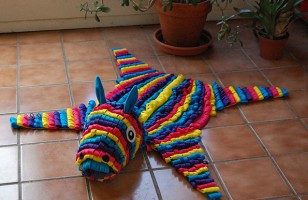 This Piñata Skin Rug Is Sure To Be A Hit (!!!) At Your House