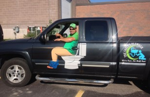 This Plumber's Truck Decal Is Genius & More Incredible Links