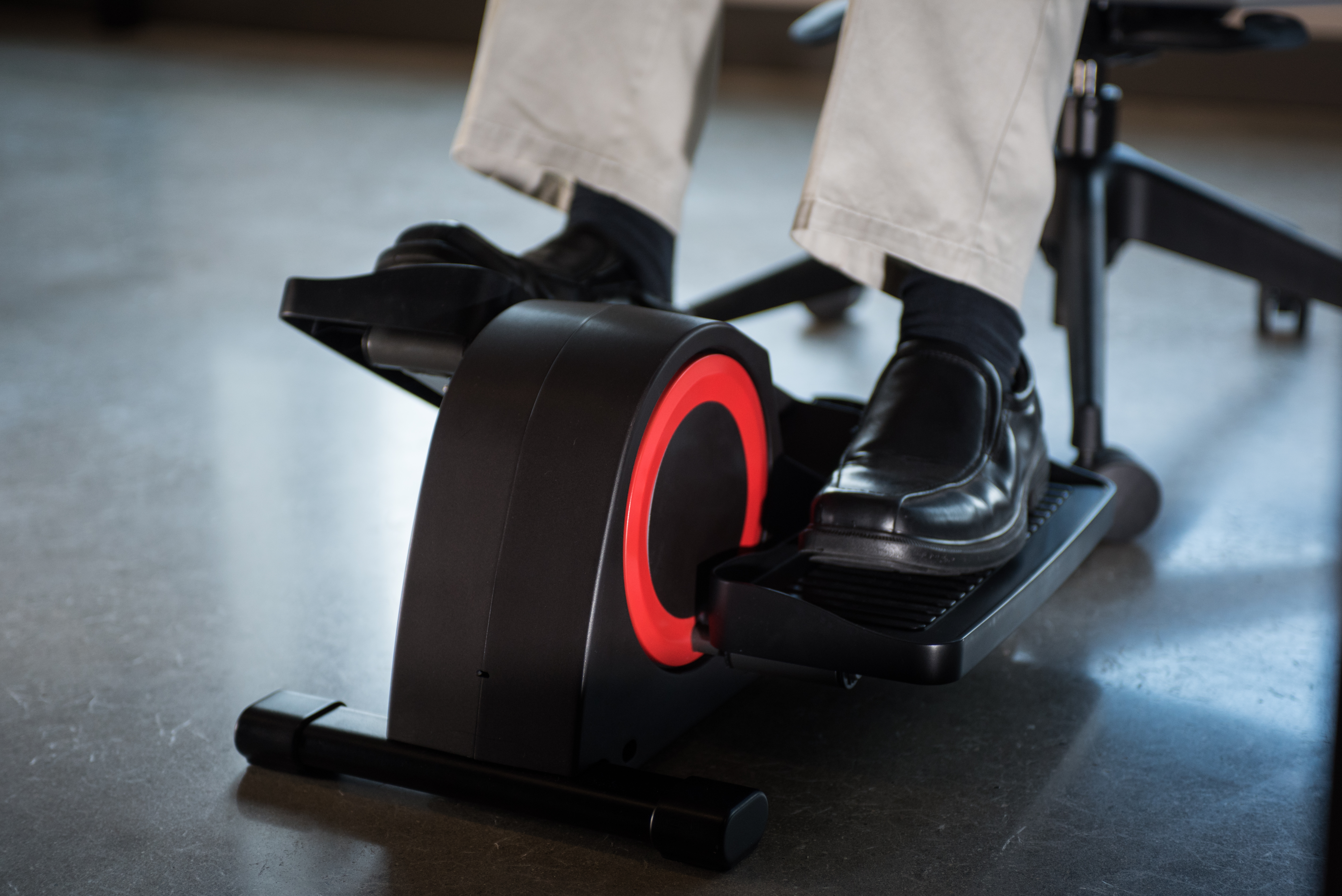 An Under Desk Elliptical So You Can Workout While You Work