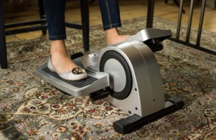 An Under-Desk Elliptical, So You Can Workout While You Work