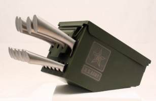 GIVEAWAY: Ammo Box Knife Block