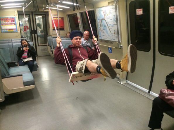 BART Commuters Are Really Loving This New Subway Swing