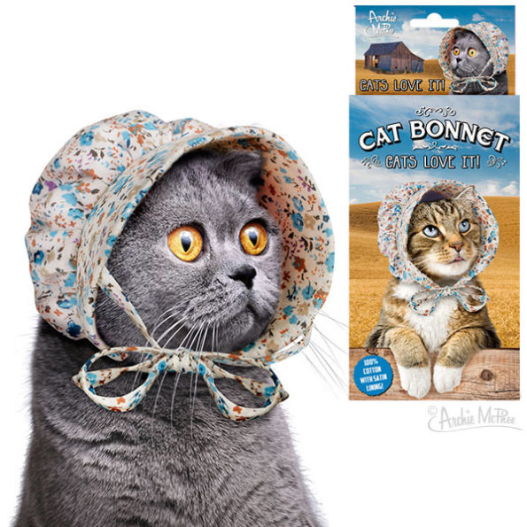 Wow, Everyone -- The Cat Bonnet Is A Thing That Exists