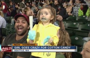 This Video Of Cotton Candy Girl Is Absolutely Hysterical