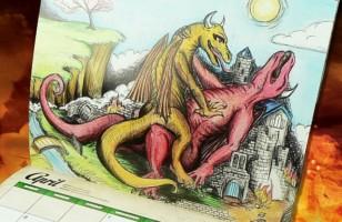 This Dragon Sex Calendar Is The Best Calendar Ever