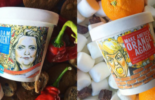 Hilary And Trump Ice Cream Flavors & More Incredible Links