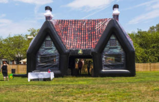 Bring The Bar To Your Backyard With This Inflatable Irish Pub