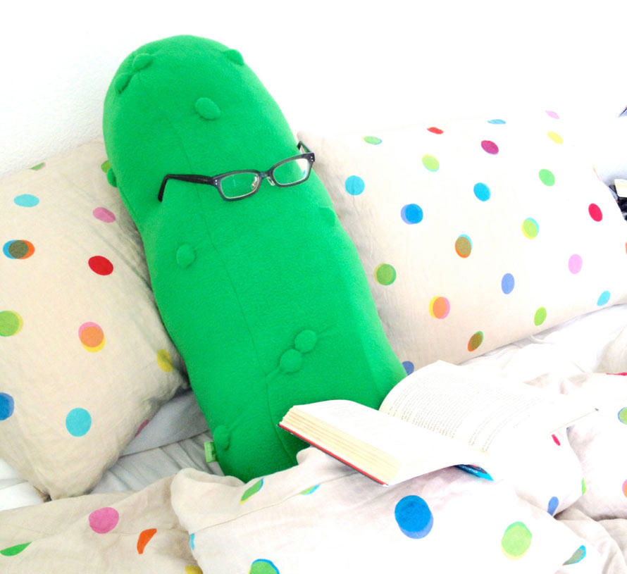 The Giant Pickle Body Pillow You've Always Dreamed Of