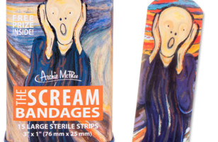 Accident-Prone Art Aficionados Will Like Scream Bandages