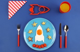 Space Egg Molds, For A Breakfast That's Out Of This World