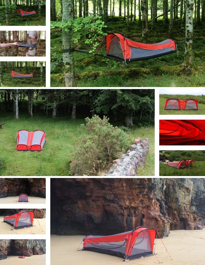 Captivating Tent Hammock Combo 3