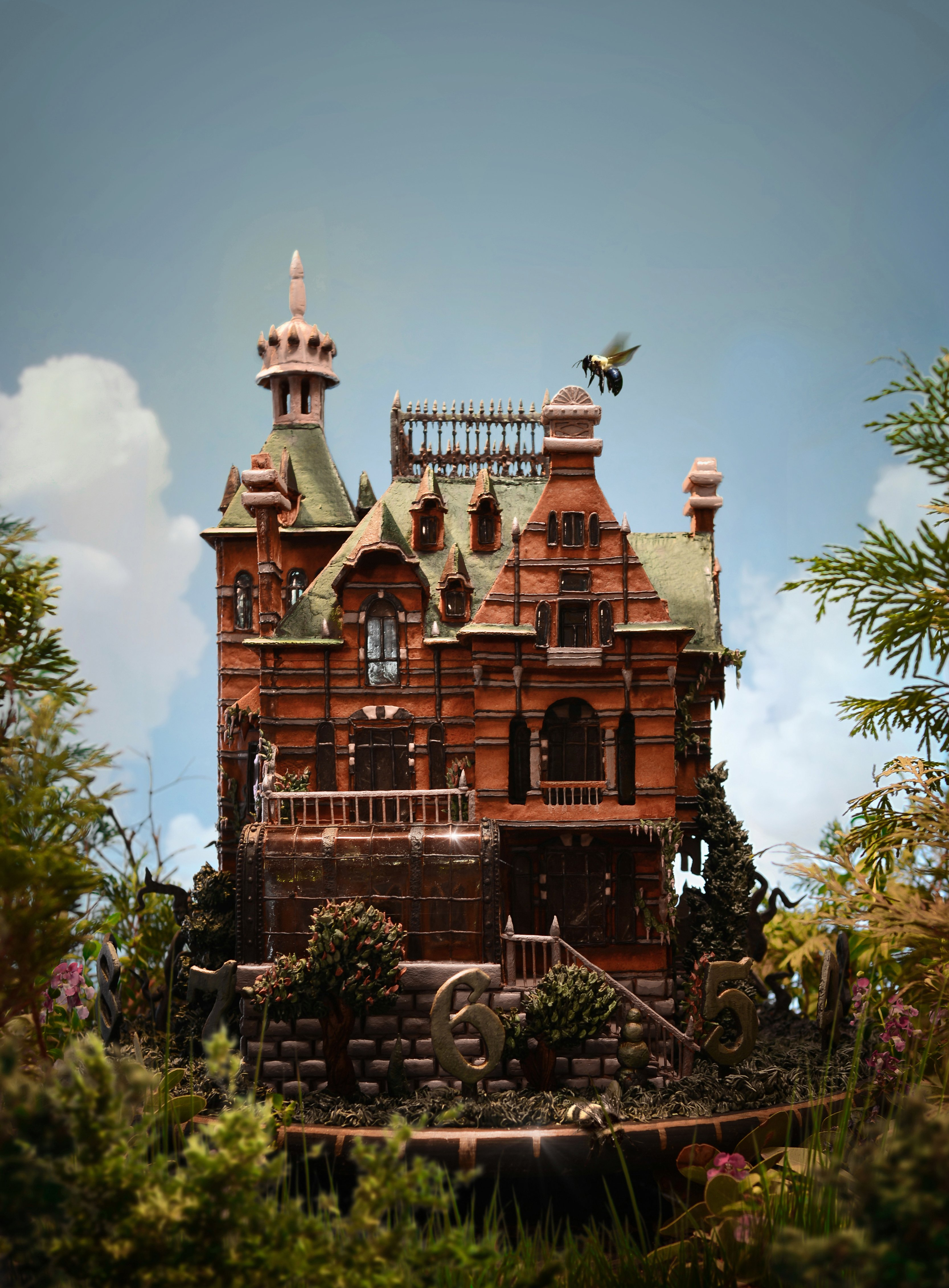A Tim Burton Gingerbread House & More Incredible Links