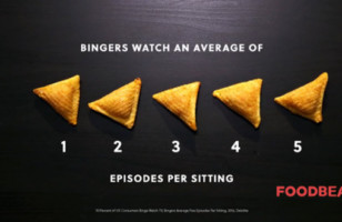 Totino's Stuffed Nachos Illustrate Americans' TV Binging Habits