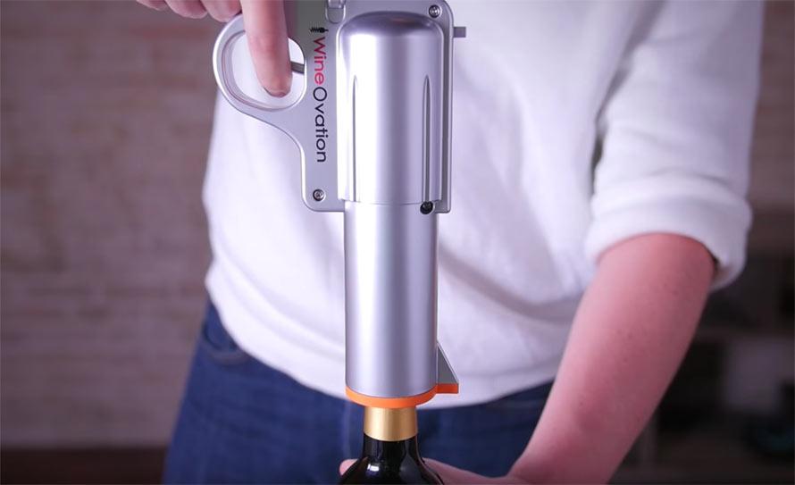 Shoot Open A Bottle Of Vino With This Wine Opener Gun