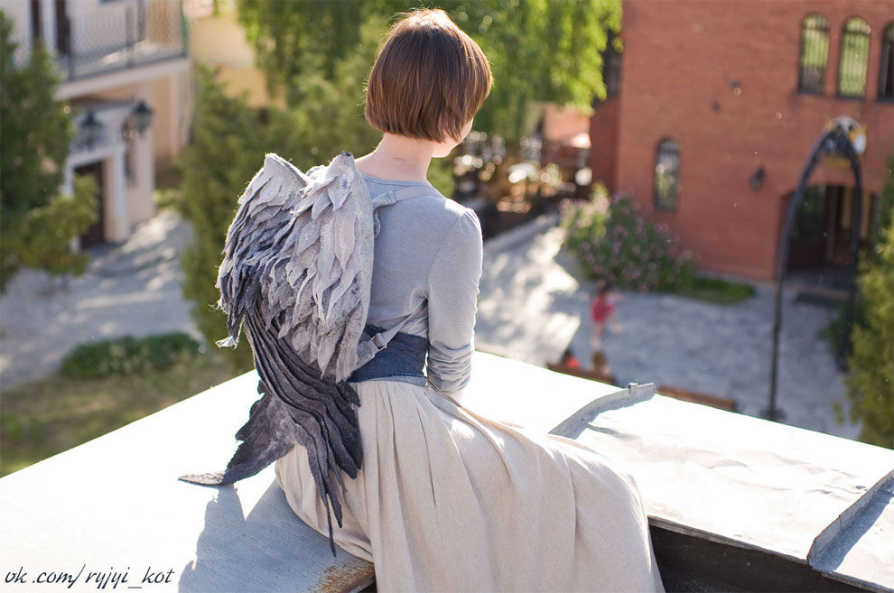 These Wing Backpacks Are The Most Whimsical Backpacks