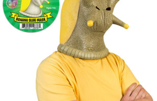 Behold! The Banana Slug Mask
