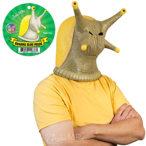 Behold! The Banana Slug Mask