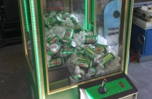 Stop Everything — Someone Made A Beer Claw Machine