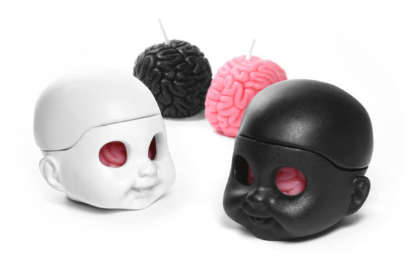 brain-skull-candle