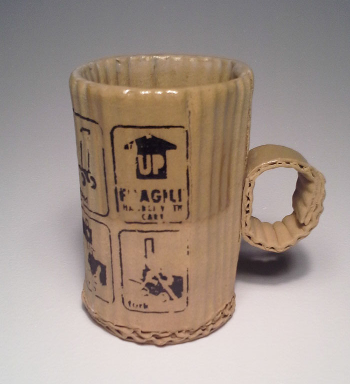 These Cardboard Mugs Aren T Actually Made Of Cardboard