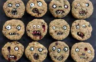 These Chocolate Chip Halloween Cookies Are To Die For