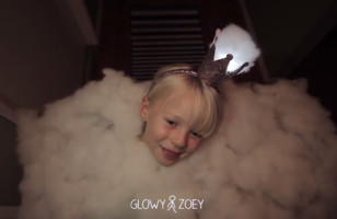 Check Out This Awesome Cloud Costume A Dad Made For His Kid